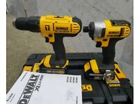 Dewalt 18v xr drill set NEW (Makita Milwaukee hilti Bosch ryobi Hitachi)