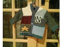 Lovely baby boys hooded Next cardigan