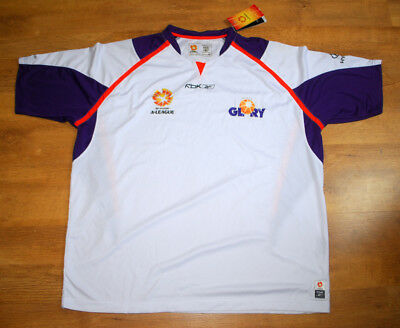 BNWT Reebok Perth Glory 2005-2007 away shirt (Size XXL) image