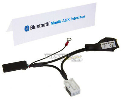 Bluetooth Adapter Mp3 Aux CD for Audi Concert Chorus Symphony 3 III #5963
