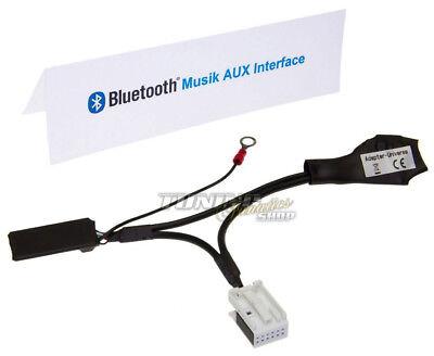 BT Bluetooth Adapter MP3 Aux CD Changer Original Radio for Vw Rcd / Rns #5963