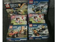 Lego sets City, Friends and Nexo Knights £4 each