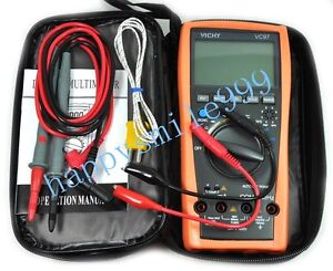 New VC97 3999 + Auto Range Digital Multimeter Temp with bag better FLUKE D0163