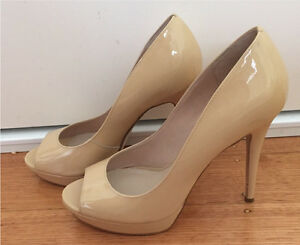 "Wittner ""Filly"" flesh patent heels size 39 MUST SELL Clifton Hill Yarra Area Preview"