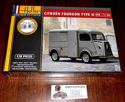 "french Truck LKW  Citroen Fourgon Hy ""Tube""  in 1:24 von Heller  80768"