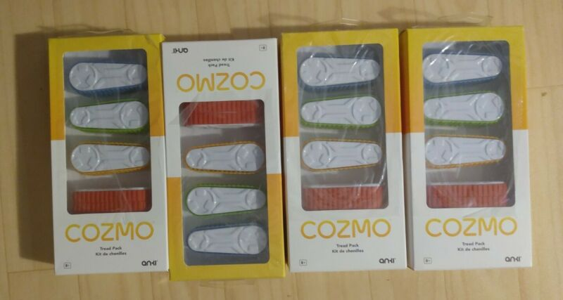 100 lot Cozmo Anki Treads Accessory Durable Kids Sets Game Pack (100 packs of 4)