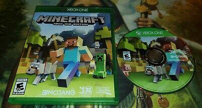 XBOX ONE Minecraft xbox one edition