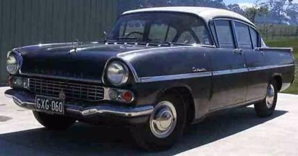 BARN FIND Classic 1958 Vauxhall Cresta PA Sedan