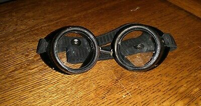 Steampunk Goggles Vintage Willson Safety Goggles (Repaired)