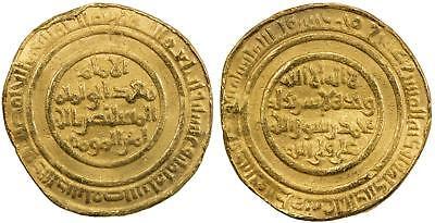 EGYPT , ISLAMIC GOLD FATIMID AV DINAR AL MUSTANSIR  428 AH ( 2ST ) MISR , RARE segunda mano  Embacar hacia Argentina