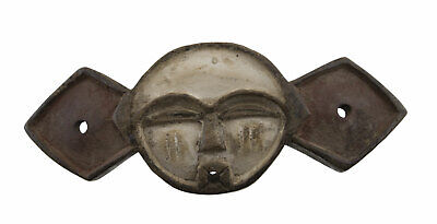 Masquette Mask African Panya Yombe Pende DRC Wood 19cm Art First 16752