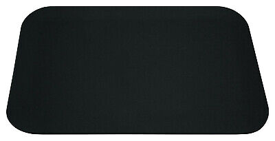 New Sealed Durapad Contoured Desk Pad 12 X 17 Inch Black