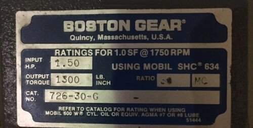 Boston Gear 726-30G