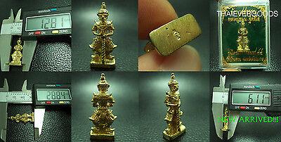 Tao Vejsuwan Lp Mhoon V Trimas    Real Thai Amulet Rich Luck Wealth