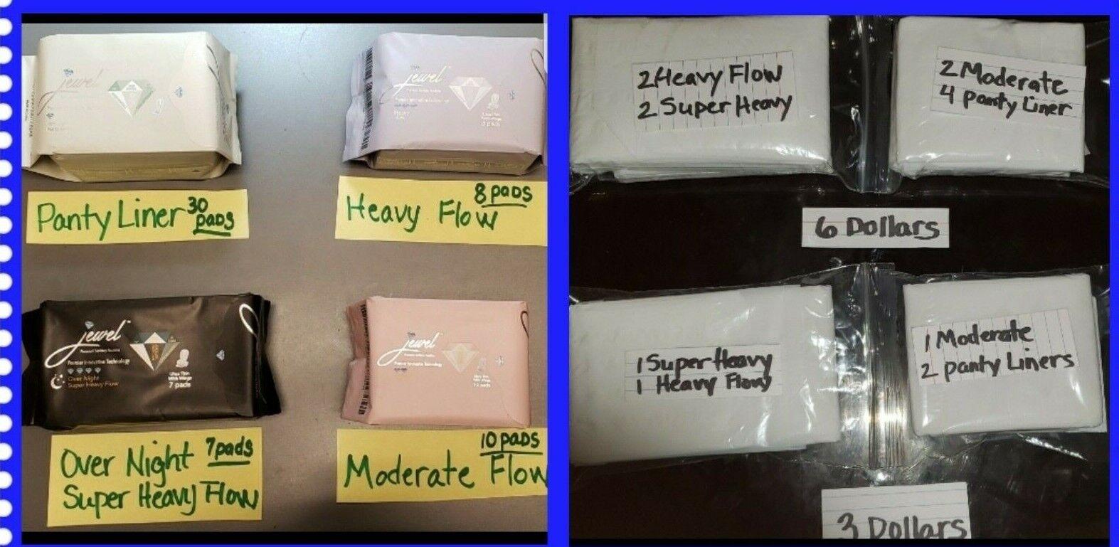 "jewel sanitary pads  ""BUNDLE DEAL"""