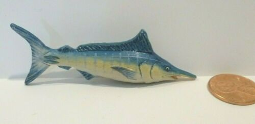 DOLLHOUSE MINIATURE FISH ( SWORDFISH )