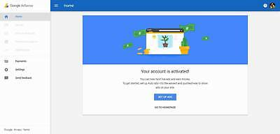 Google Adsense Georgia Non Hosted Account For Website