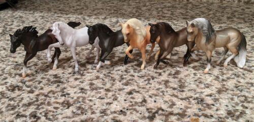 Breyer SM Lot 6 horses: Lusitano, Andalusian, Paso Fino,