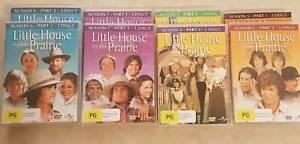Little House on the Prairie DVDs Seasons 4-7