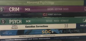 1st and 2nd Year Justice Studies / CJSW Textbooks