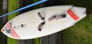 For Sale: An excellent windsurfer board and one 6.2m sail.
