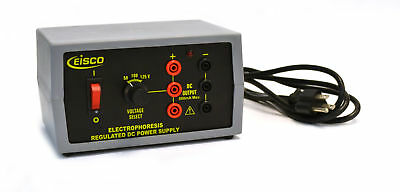Eisco Labs Electrophoresis Power Supply Dc 0-125 V 500ma