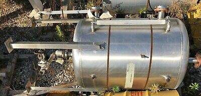 300 Gallon 304 Stainless Steel Vertical Caustic Soda Tank 2