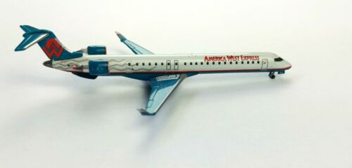 Gemini Jets America West Express Bombardier CRJ-900 Diecast Model 1/400 Airplane
