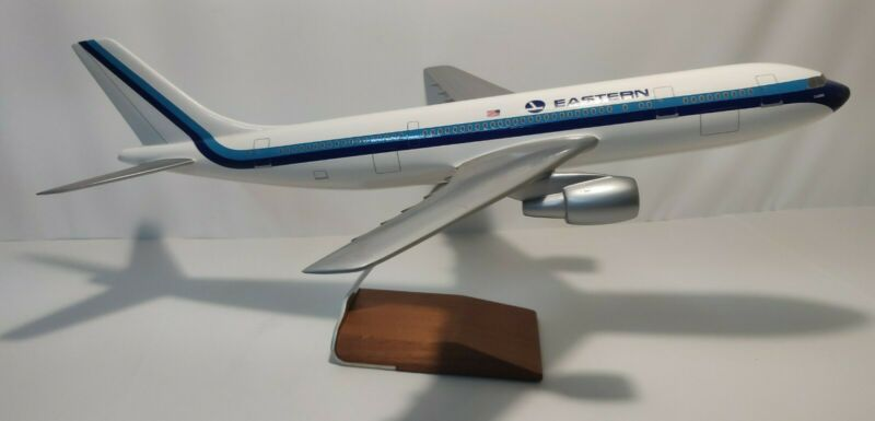"A-300 Eastern Airlines Airbus A300 Airplane Desk Model 21""L with wingspan 18"""