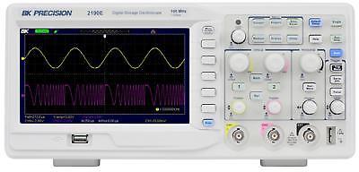 Bk Precision 2190e 100 Mhz 2 Channel Digital Oscilloscope New