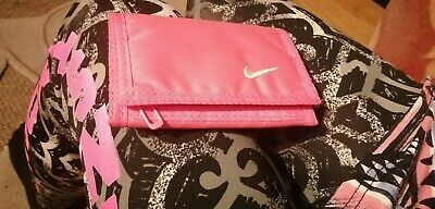 Nike Basic Wallet Trifold Pink/White Mens Women's