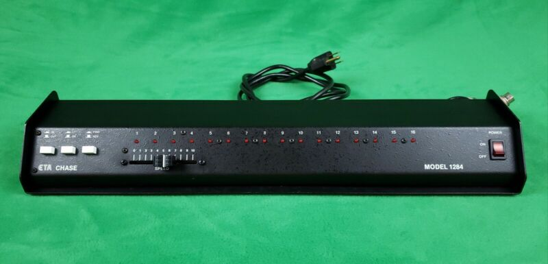 ETA Model 1284 Chase Stage Light Controller NOS