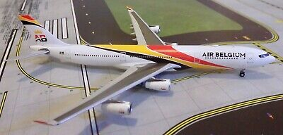 Air Belgium A340-300 Diecast Aircraft Model 1/400 Scale JC Wings XX4420