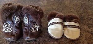 Robeez  6-12 months 25$ for both