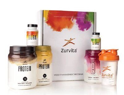 ZURVITA ZEAL FOR LIFE 30 Day Weight Management Program - FREE SHIPPING