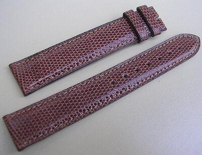 Bracelet ancien cartier en cuir pour montre entre corne 18 mm