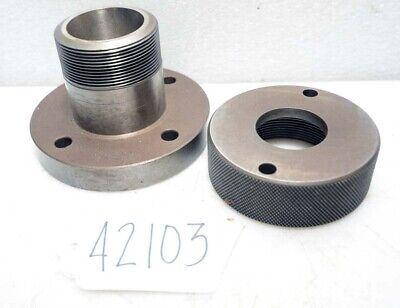 Brown And Sharpe No 13 Collet Chuck Adapter Inv.42103
