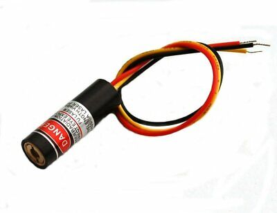 Visible Red Pulsed Laser Diode Module - 650nm 5mw