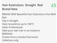 2 x Hair Extensions