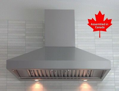 """PROFESSIONAL RANGE HOOD 48"""" WITH MECHANICAL  SWITCHES. WATCH VIDEO"""
