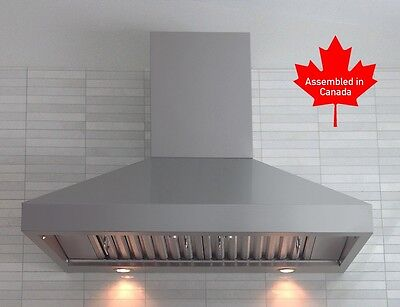 "PROFESSIONAL RANGE HOOD 48"" WITH MECHANICAL  SWITCHES. 5 YEARS WARRANTY"