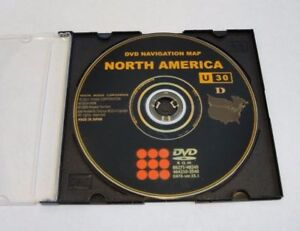 2004 2005 2006 Toyota Tundra Solara Navigation LATEST Map DVD Gen 4 U30 15.1