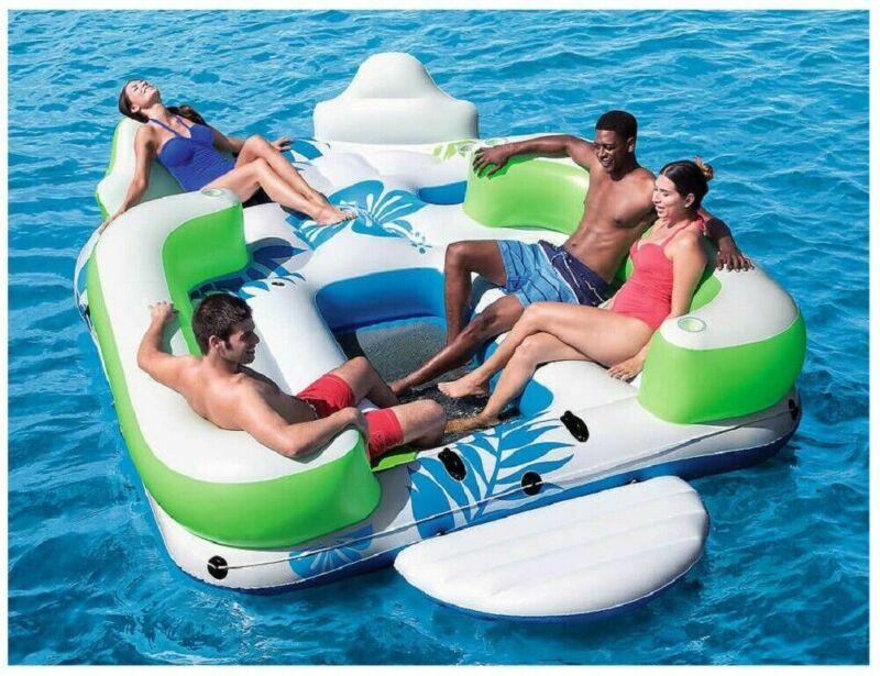 Bestway CoolerZ Summer Drift Island Inflatable Seats up to 6
