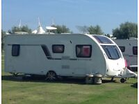 Caravan 4 berth 2012 Swift Corniche