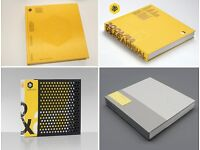 Four D&AD Design & Art Direction Annuals. Like new complete with boxes.