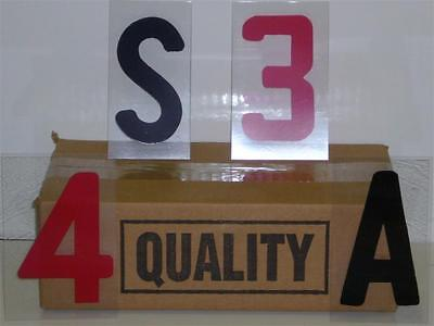 4 Inch On 5 Changeable Outdoor Sidewalk Sign Letters