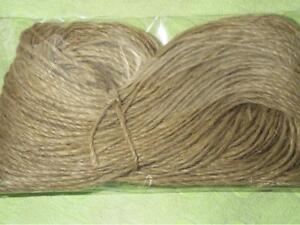 40 Metre Natural Brown Shabby Style Rustic String Twine Shank Craft Making Jute