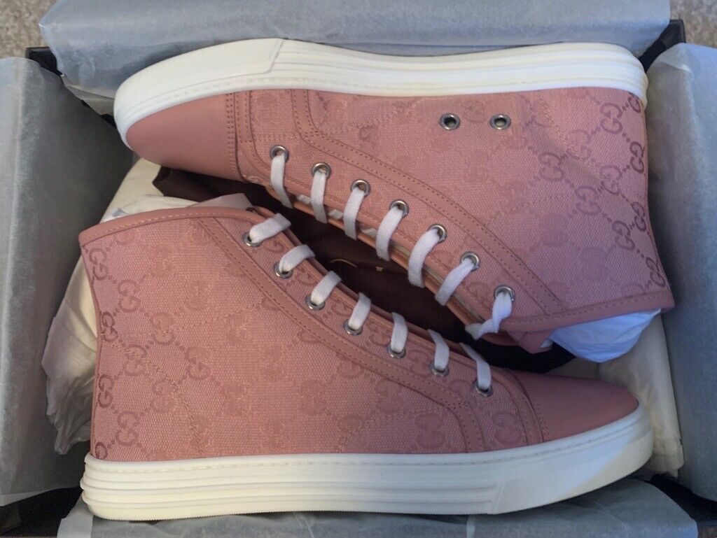 pink gucci high tops - 50% OFF