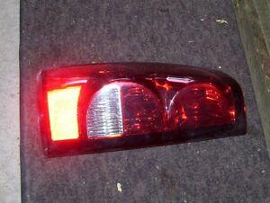 2004 Chevrolet truck left tail light