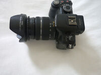 Lumix G2 with 14-42 lens.